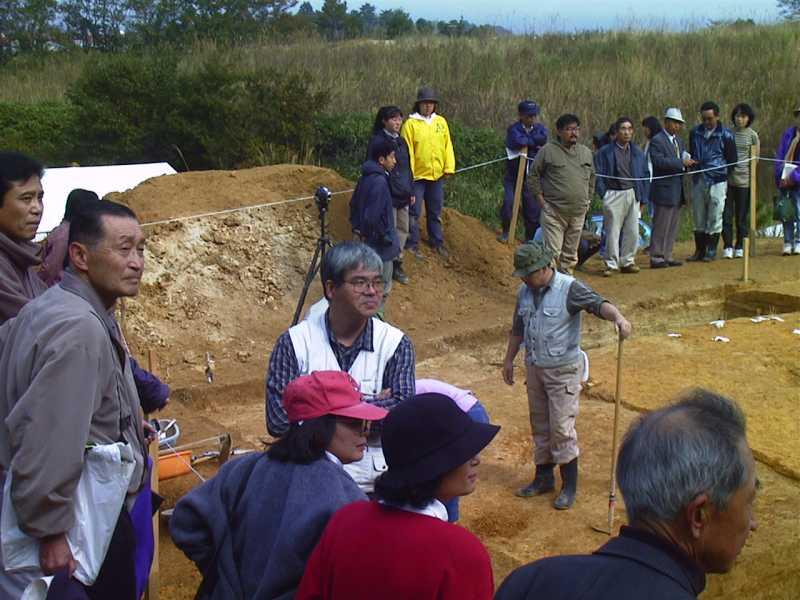 第4次上高森遺跡発掘調査
