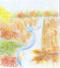 Dragonair & Autumn canyon