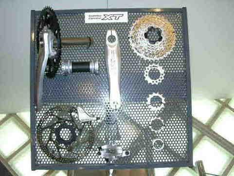 自転車の シマノ 自転車 新製品 : 内装8段のハブ、自動点灯 ...