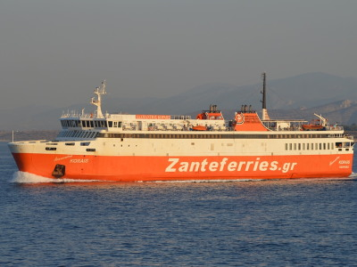 Former Japanese Ferries in Greece